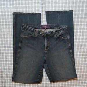 NYDJ womens bootcut size 8 jeans